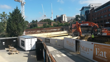 Construction Noise Monitoring at Bromley South Central Mixed Use Development